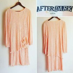 Vintage After Dark Long Sleeve Dress